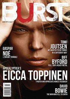 Burst Magazine Issue 7, July 2013 David Bowie, Heavy Metal, The Man, Appreciation, Magazine, Heavy Metal Music, Magazines, Warehouse, Newspaper