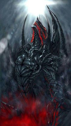 Iron Dragon Pictures Images and Photos drachenzeichenkurs Fantasy Kunst, Dark Fantasy Art, Fantasy Artwork, Monster Concept Art, Monster Art, Mythical Creatures Art, Mythological Creatures, Mythical Dragons, Cool Dragons