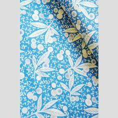 Leafy Buds - Blue - Memoire A Paris - Lecien Japan