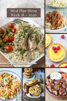 Customizable Ketogenic Low Carb Meal Plans sent right to your email each week! Our menu plans are made for families. All of these recipes use whole food ingredients and are easy to make for any busy weeknight. | Sugar Free Mom