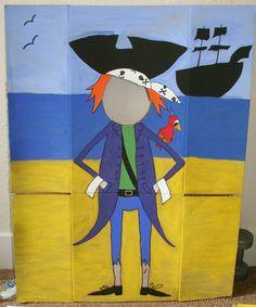 Pirate face cut-out by KBS-Art.deviantart.com