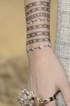 The Terrier and Lobster: Les Trompe L'Oeil de Chanel: Chanel Tattoos