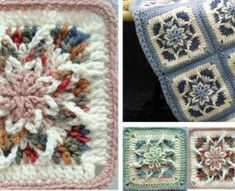 Star Square & Blanket | Knitting Embroidery Videos and Lessons