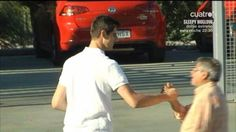 Thibaut Courtois said goodbye to the Atlético squad this afternoon. He will return to Chelsea.