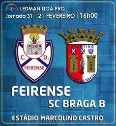CLUBE DESPORTIVO FEIRENSE: Feirense vs SC Braga B   Antevisão