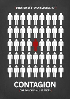 Contagion (poster by Anna Underhill)