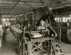 Tire Assembly Line | Photograph | Wisconsin Historical Society