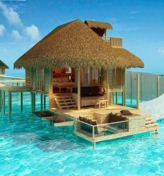Bangalô nas Maldivas