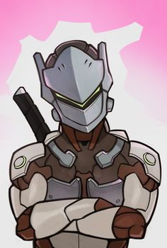 Overwatch, Genji by SplashBrush
