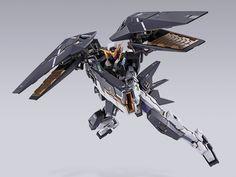 「METAL BUILD 力天使鋼彈 修復型III」07月發售 十周年新機首度立體化! | 玩具人Toy People News Gundam Exia, Gundam 00, Shoulder Armor, Dynamic Poses, Gundam Model, Real Style, Mobile Suit, Plastic Models, Three Dimensional
