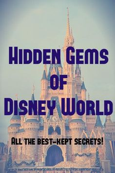 A list of little-known, hidden things to enjoy in Walt Disney World! Wow your travel mates on your next trip!