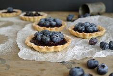 Borůvkové tartaletky Waffles, Pie, Breakfast, Food, Basket, Torte, Morning Coffee, Cake, Fruit Cakes