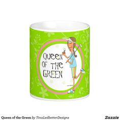 Queen of the Green Coffee Mug