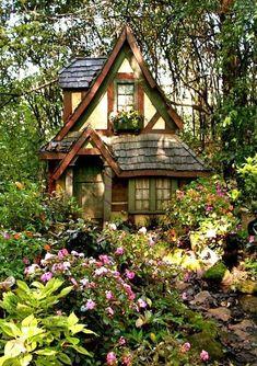 cottage garten 24 Best Fairytale Cottage 24 Best Fairytale Cottage fancydecors The post 24 Best Fairytale Cottage appeared first on Woodworking Diy. Cottage In The Woods, Cozy Cottage, Cottage Homes, Witch Cottage, Cottage House Designs, Tudor Cottage, Witch House, Cozy Cabin, Cottage Design