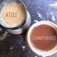 Recipe: Atole + Chocolate = Champurrado Recipe for making Atole and Champurrado Authentic Mexican Recipes, Mexican Food Recipes, Dessert Recipes, Desserts, Masa Recipes, Tostadas, Tacos, Latin Food, Enchiladas