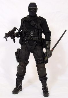 SNAKE EYES Commando custom with SS gear #toy