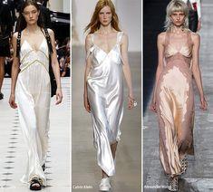Spring/ Summer 2016 Fashion Trends: Slip/ Lingerie Fashion Trend #trends #fashiontrends