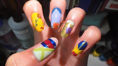 Disney Princess Nails #nails