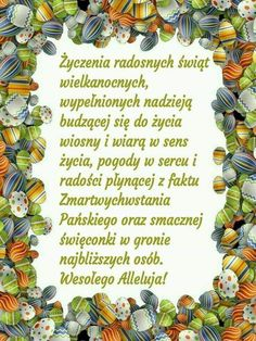 Discover recipes, home ideas, style inspiration and other ideas to try. Happy Easter Day, Beautiful Gif, Motto, Humor, Holiday, Christmas, Quotes, Cards, Poland