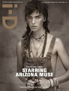 Arizona Muse for i-D Magazine #319 by Kayt Jones