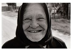 Grandma In the Village of Eastern Europe.  Tápióbicske, Magyarország (Hungary). Follow us on Twitter @: https://twitter.com/everydaychild