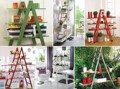 many ways to use a #ladder molti modi per usare una #scala #handmania