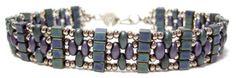 Pattern bijoux: Bracciale Skinny Twin Cube Band