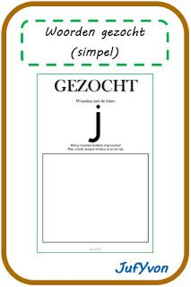 ©JufYvon: Woorden gezocht (simpel) Spelling, School, Google, Languages, Backpack, Writing Fonts, Language, Games