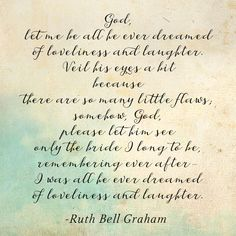 Let him see by Ruth Bell Graham