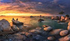 Beautiful Panorama of Samudra Beach by Bobby-Bong via http://ift.tt/2p11Jur