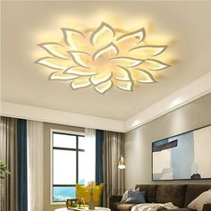 Details about 2018 New LED Chandelier Living Room Bedroom Home Modern Ceiling Lamp Fixtures - Home Decor Lightings House Ceiling Design, Ceiling Design Living Room, Chandelier In Living Room, Home Ceiling, Living Room Designs, Led Chandelier, Simple Chandelier, Bedroom Ceiling, Living Room Lighting Ceiling