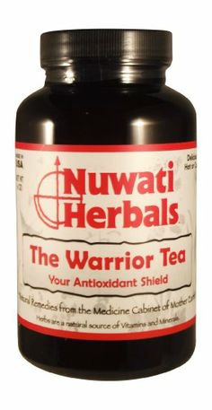 Nuwati Herbals The Warrior Tea, 6 Ounces. Tea in beast mode! Drink this natural antioxidant tea daily to fight free radicals that accelerate aging internally and externally.