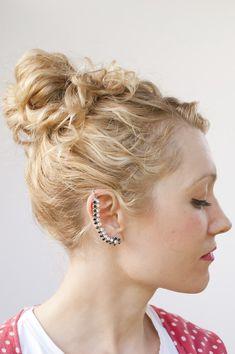 Tutorial: Rhinestone Ear Cuff