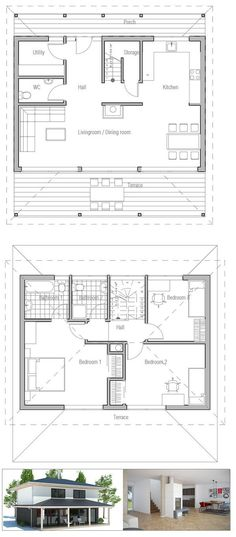 Habitat for ity 726 sq ft, 3 br house; increase width to 32 ft ... on