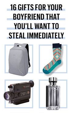 20 Gifts for Your Boyfriend That You'll Want to Steal Immediately