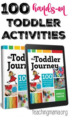 100 Toddler Activities- Pin