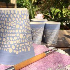 "- Sarah Murray (@sarahmurray_ceramics) on Instagram: ""Shibori Central here today #sarahmurrayceramics #australianceramics #stoneware #shiboristyle…"""