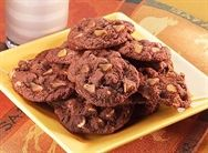 REESE'S Chewy Chocolate Cookies ~ I substituted Reese's Mini Pieces for the PB chips!