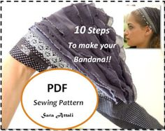 How To Sew Your SINAR TICHEL Apron Tichel by SaraAttaliDesign