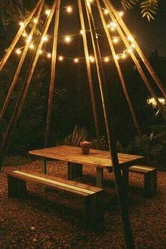 Simple but effective idea for garden