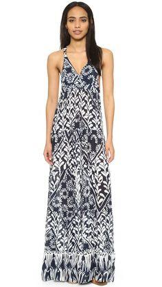 Raga Tropic Blues Maxi Dress