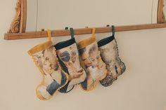 calcetines navidad diy 01 Fotos para Noel. Calcetín de Navidad DIY
