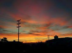 Sunrise in Santa Monica, California