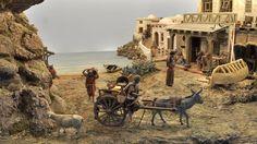 Asociación de Belenistas de Badajoz - Belén 2013-2014 Christmas Nativity Scene, Christmas Villages, Madonna, Behind The Scenes, Camel, Sculpture, Architecture, Painting, Animals