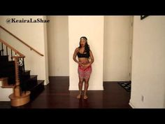 HOW TO Belly Dance/Body Roll for Beginners (Tutorial) @KeairaLaShae - YouTube
