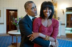 Mr President & The first lady