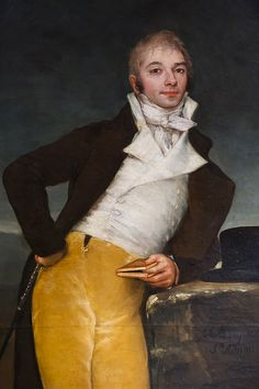 """Retrato del marqués de San Adrián"" - Francisco de Goya, museo de Navarra…"