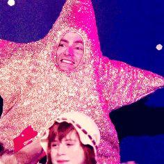 David Tennant as a 'Star'