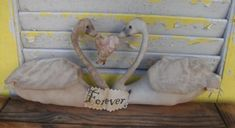 Pic of the day love swans #primitivedecor #primitive #handmade #etsy #primitivedoll #valentinesday #love