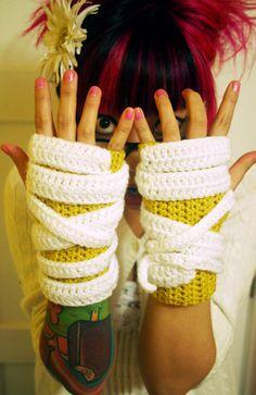 mummy gloves